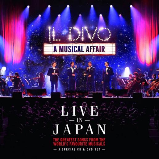 IL DIVO A MUSICAL AFFAIR: LIVE IN JAPAN