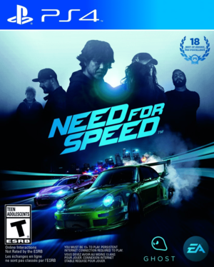 JUEGO PARA PS4 NEED FOR SPEED 2015