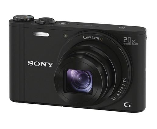 CAMARA DE FOTOS DIGITAL SONY DSC-WX350/B