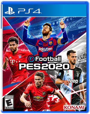 JUEGO PARA PS4 PES 2020