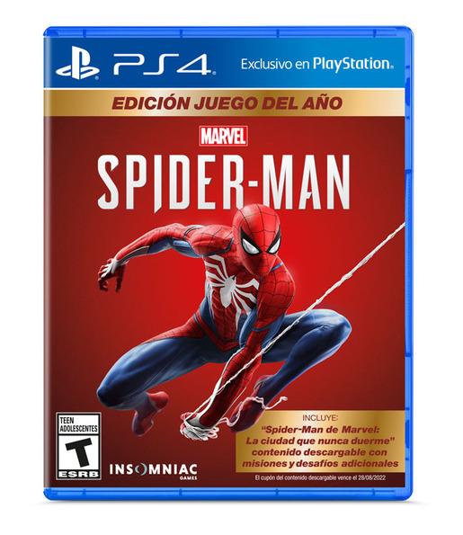JUEGO PARA PS4 SPIDERMAN GOTY