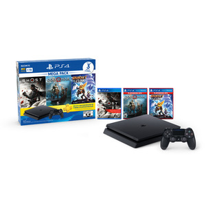 CONSOLA PS4 PS4 SONY MEGAPACK 18 1TB