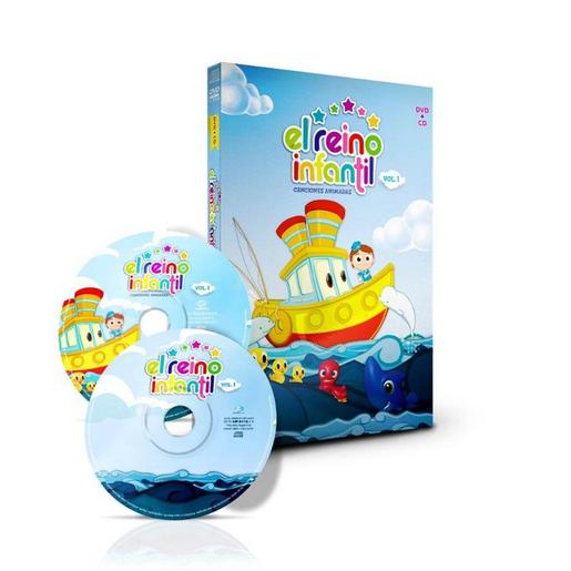 EL REINO INFANTIL (CD+DVD)