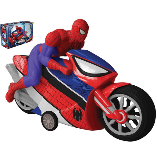 MOTO A FRICCION SPIDERMAN 5057