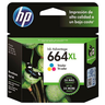 CARTUCHO DE TINTA HP 664XL TRI-COLOR