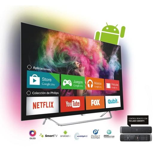SMART TV PHILIPS 55 PULGADAS 4K UHD 55OLED873/77