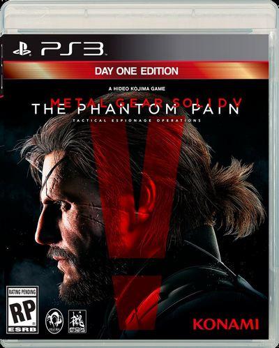 MGS V PHANTOM PAIN PS3.