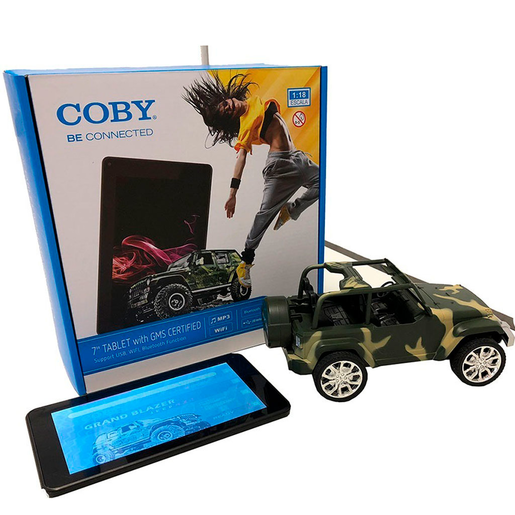 "TABLET COBY CTB761 7"" 8 GB NEGRO"