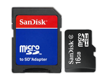 MEMORIA EXTRAIBLE SD 16GB C/ADAPTADOR