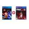 LEGO STWARS+NBA16 PS4