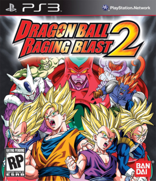 DBZ RAGING BLAST 2 PS3