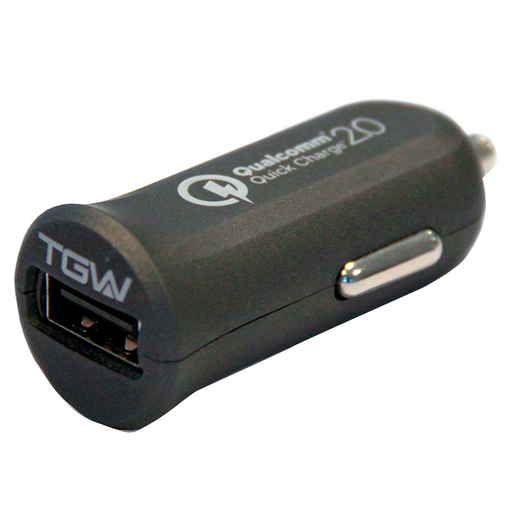 CARGADOR P/AUTO TAGWOOD QUICK CHARGE