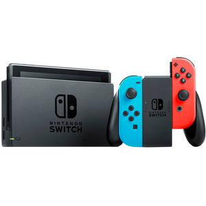 CONSOLA NINTENDO SWITCH NEON BLUE&RED