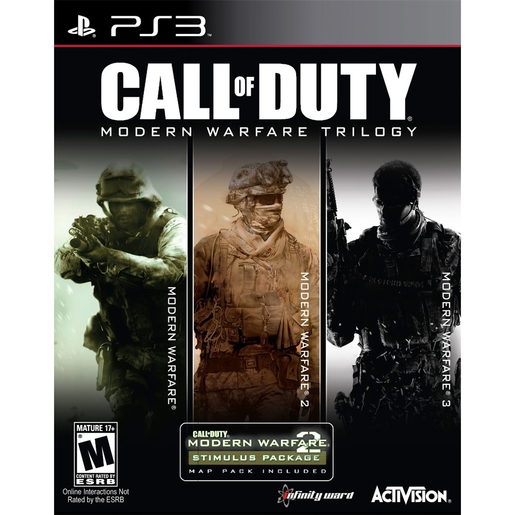 CALL OF DUTY MW TRIL PS3