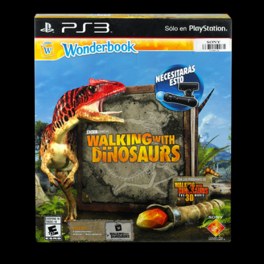 WALKING WITH DINO WBOOK PS3
