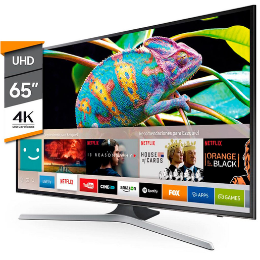 "SMART TV SAMSUNG 65 ULTRA HD 65"" 65MU6100 4K FLAT"