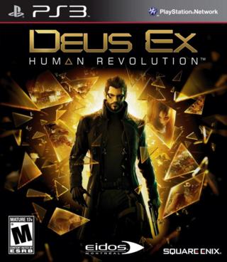 DEUS EX HUMAN PS3