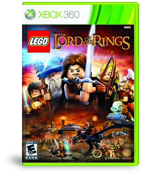 LEGO LORD OF THE RINGS X360