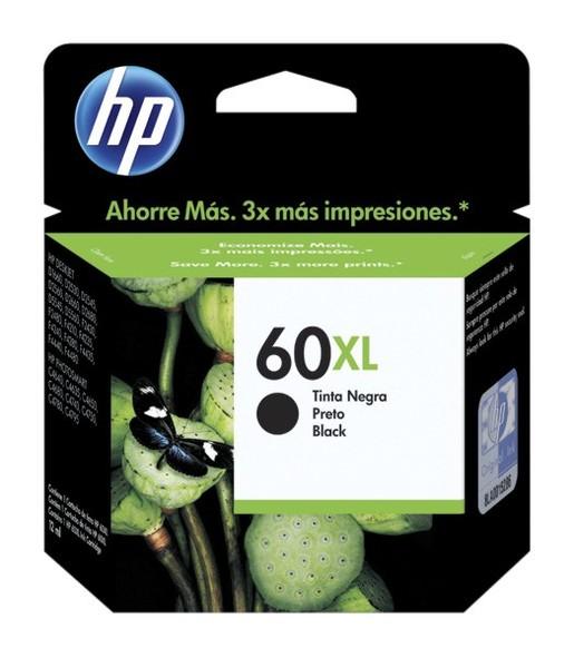 Cartucho HP 60 XL Negro