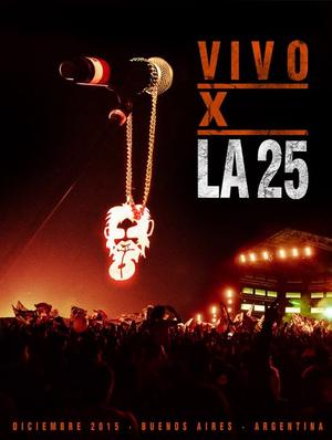 VIVO X LA 25 ( 2CD+ DVD )