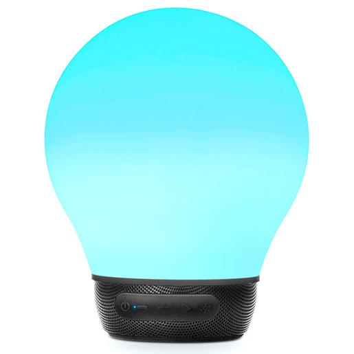 PARLANTE PORTATIL AURABULB SMART MUSIC LAMP BLUE