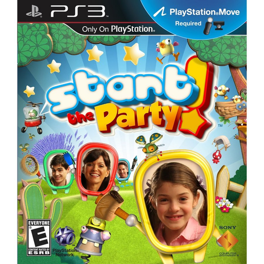 START THE PARTY MOVE  PS3