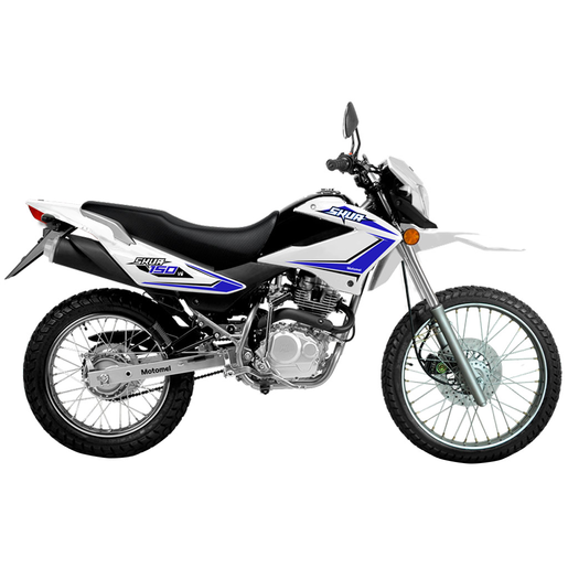 MOTOCICLETA CX150V6 CKD BLANCO (SKUA 150)
