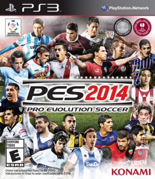 PES 2014 PS3