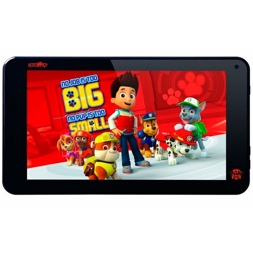"TABLET LEVEL UP PAW PATROL 7"" 8 GB NEGRO"